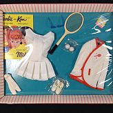 1962 Barbie clothing set number 0941 Tennis Anyone SEALED IN BOX