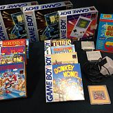 Gameboy Resellers LOT Game systems empty boxes and games with boxes